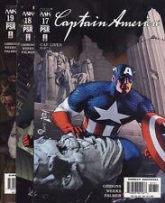 CAPTAIN AMERICA #17,18,19,20 & 21 Marvel Comics Avengers Dave Gibbons CAP LIVES