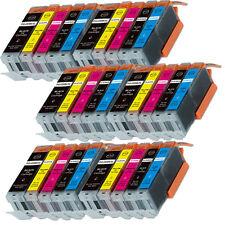 30 PK XL Ink Cartridges for Canon PGI-250 CLI-251 MG5520 MX922 MG5620 MG6620