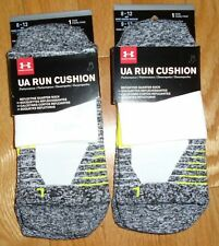 Under Armour Mens Socks Lot of 2 Pair UA Run Adult L Large NWT