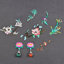 Japanese Glass Tea Pot Sticker Set Flower Decor Home Kitchen Diy Accessories