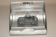 A2 1:43 OPEL COLLECTION MINICHAMPS OPEL OLYMPIA CABRIOLET 1951-1952 GREY MIB