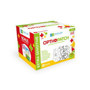 Opthopatch Color Your Own Adhesive Eye Patch for Kids 70 Pack + 2 Rewards Charts