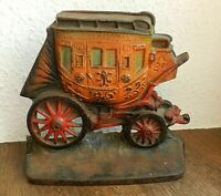 ART DECO CALE PORTE FONTE/DOOR WEDGE COACH FONT/DILIGENCE/STAGECOACH/WESTERN