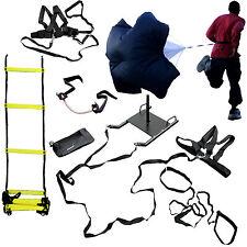 CROSS TRAINING BUNDLE KIT- Ladder,Parachute,Sled,Lateral Stepper,Resistance x 2