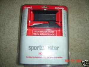 Sportscaster Home Kit - Sports Caster for XM Radio - Model XM101HK Brand NEW