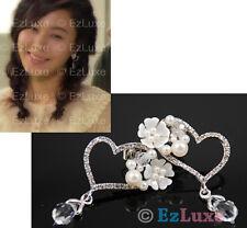 Korean drama ON AIR Kim Ha Neul Flower Bouquet Earrings