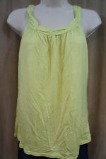 "Alfani Intimates Sleep Shirt Sz S Green ""Chartreuse"" Sleeveless Pajama Sleepwear"