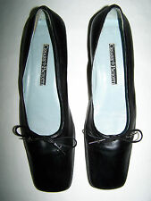 "SCARPE ""CESARE PACIOTTI "" BALLERINE WOMAN LEATHER SHOES n°40 MADE IN ITALY"