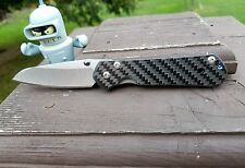 Chris Reeves Small Sebenza 2x2 Twill Carbon Fiber Scale (Knife NOT INCLUDED)