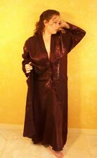 Plus Size Robe XL one size fits most robe Burgundy NEW