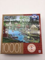 "500 Piece Bob Fair Art Puzzle /""Ike/'s General Store/""  New 18/"" x 24/"""