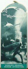 1950's Marineland Florida vintage diecut dolphin cover brochure b