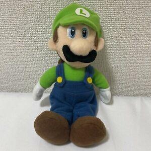 Luigi Legit Super Mario Party 5 Sanei 2003 Plush Japan Toy Perfect Condition