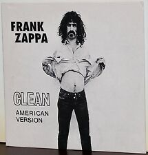 RYKO PROMO CD VRCD-0501: Frank Zappa - Clean American Version - 1995 CANADA