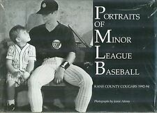 Portraits of Minor League Baseball Kane County Cougars 1992-94 NIP PB Illinois