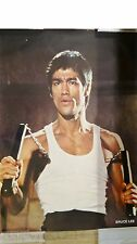 bruce lee rare 3 affiches promo + 30ans !