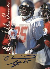 1997 SP Authentic Sign of the Times Buccaneers Football Card #4 Reidel Anthony