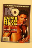 KO The Knockout Boxing Magazine, OSCAR De La Hoya, March 2003