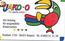 """K 009 """"10 Jahre Jako-O - Katalog für Kindersachen"""" - VOLL - 1.500"""