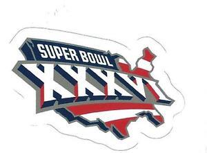 New England Patriots Super Bowl XXXVI Logo Decal