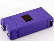 Purple 600 Million Volts Stun Gun w/ LED light + Free holster