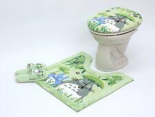 My Neighbor Totoro Toilet Seat Cover Mat Slipper Bathroom Ghibli Japan Import