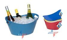 Refrigerador de Cubo utilidad de hielo de plástico flexible para Barbacoa Fiesta Vino Cerveza Champagne