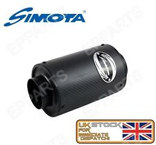 Simota Universel Filtre Air Performance Carbone Airbox 200x130 70 mm SM-BX-001