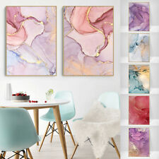 Canvas Marble Art Wall Poster Nordic Pictures Print Paint Modern Home Decor