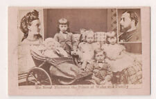 Vintage CDV King Edward VII & Queen Alexandra of Great Britain & Family