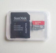64GB SanDisk Ultra Micro SDHC SDXC Class 10 TF Memory Card 30MB/s SDSQUNA-064G R