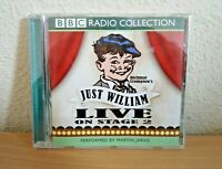 Richmal Crompton's Just William Live On Stage 2 Audiobook CD - BBC Radio
