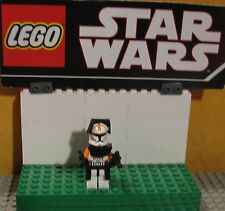 "STAR WARS  LEGO LOT MINIFIGURE--MINI FIG ""  COMMANDER CODY 7959-7676  W/ARMOR  """