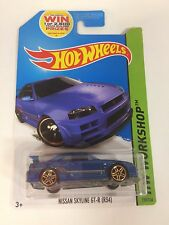 "Hot Wheels ""HW Workshop 230/250"" Nissan Skyline GT-R R34 (T11)"
