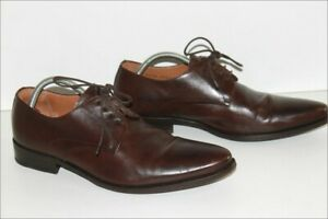 Heyraud richelieu Derby Shoes all Leather Tint Plum T 42.5 Be