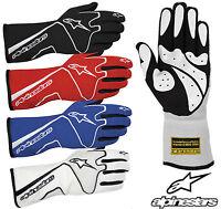 Alpinestars Tech 1 Race Gloves, FIA Approved Glove, Nomex, Oval & Rally - SALE