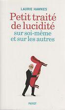LAURIE HAWKES PETIT TRAITE DE LUCIDITE + PARIS POSTER GUIDE