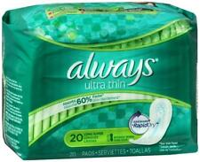 Always Ultra Thin Pads Long Super W/flexiwings 240ct 037000331599a3600
