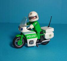 Playmobil Polizei/Police~Motorradstreife Deutsch/German Highway Patrol (3983)