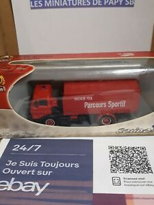 Solido Camion Pompier Ref 3163 Mercedes Miniature 1/43 SDIS 01 Made in FRANCE