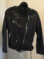 Brand New Korean Leather Jacket XS
