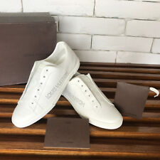 Authentic Louis Vuitton Casual Sneakers Size LV 39,5 fits 7.5 US White Leather