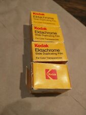 New Listing4 Boxes Expired 1991 35mm Kodak Ektachrome Slide Duplicating Film 25/32 Iso