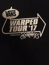 Vans Warped Tour 2017 Local Crew T-shirt Size Large