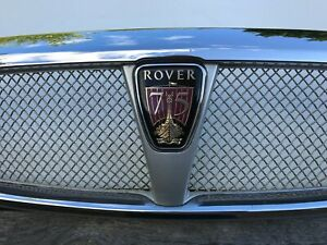 rover 75 chrome front grill mk 1