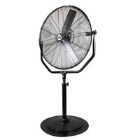 "Maxx Air HVPF30YOKE - Industrial Grade Pedestal Fan, 30"" Stand Fan Powerful CFM"