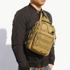 Men Backpack Molle Tactical Sling Chest Bag Assault Pack Messenger Shoulder  .