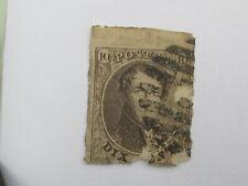 BELGIUM  BELGIE  BELGIQUE  1861  °    10    (AOD009)