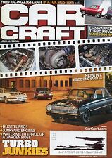 Car Craft Magazine June 2014 Ls Swapped Turbo Nova / Crate In A Fox Mustang