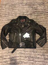 BRAND NEW Viking Cycle Leather Motorcycle Jacket Size Large